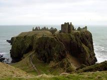dunnottar 1座的城堡 免版税库存照片