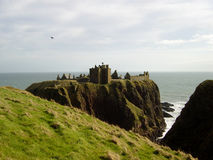 Dunnottar Castle 3. Dunnottar Castle near Aberdeen, Scotland Stock Photography