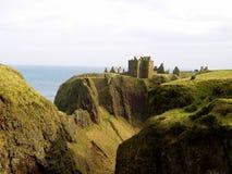 Dunnottar Castle 4. Dunnottar Castle near Aberdeen, Scotland Royalty Free Stock Image