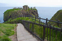 Dunnottar Castle Stock Image