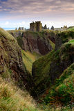 Dunnottar Castle in Aberdeen, Scotland. Royalty Free Stock Photography