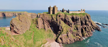 Dunnottar Castle, Aberdeenshire, Scotland Stock Photo