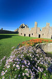 Dunnottar Castle with blue sky in - Stonehaven Royalty Free Stock Photography
