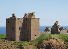 Dunnottar Castle Fortress, Scotland Royalty Free Stock Photos