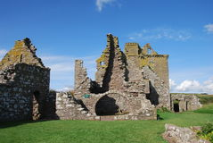 Dunnottar Castle Ruins Royalty Free Stock Images