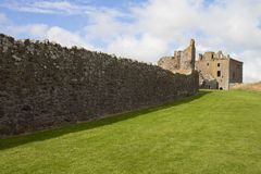 Dunnottar castle scotland Stock Photo
