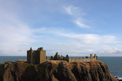Dunnottar Castle, Scotland Royalty Free Stock Images
