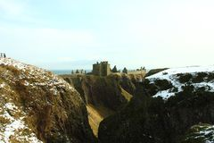Dunnottar Castle, Scotland Royalty Free Stock Photos