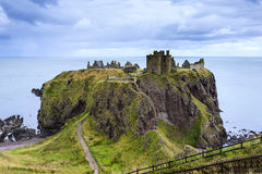 Dunnottar Castle, Scotland stock images