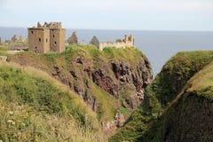 Dunnottar Castle Scotland Royalty Free Stock Image