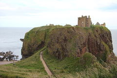 Dunnottar Castle Scotland Stock Photos