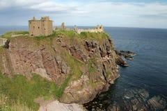 Dunnottar Castle Scotland Stock Image