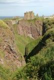 Dunnottar Castle Scotland Royalty Free Stock Photos