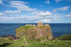 Dunnottar Castle Stonehaven, Aberdeen, Stock Photo