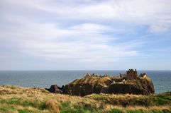 Dunnottar Castle, Stonehaven Royalty Free Stock Images
