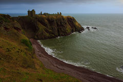 Dunnottar Schloss Stockfotos