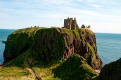 Dunnottar slott Arkivbild