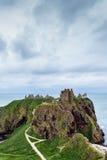 dunnottar slott Arkivbilder