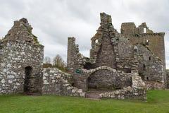 dunnottar slott Arkivfoton