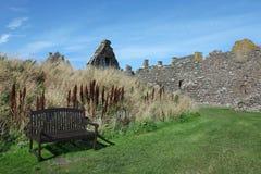 Dunnottar slott i Aberdeen Arkivfoton