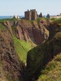 Dunnottar slott, Skottland Arkivbilder
