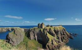 Dunnottar slott, Skottland, Europa Royaltyfri Fotografi