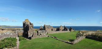 Dunnottar slott, Skottland, Europa fotografering för bildbyråer