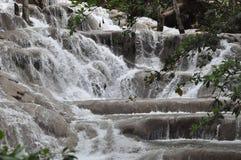 Dunns河在牙买加落 免版税库存图片