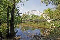 Dunns bridge Indiana Stock Photo