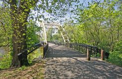 Dunns bridge Indiana Royalty Free Stock Photography