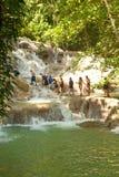 Dunns Fluss fällt in Ocho Rios, Jamaika Lizenzfreie Stockbilder