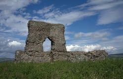 Dunnydeer slott Insch Skottland Arkivbild
