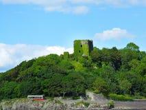 Dunollie Castle κοντά σε Oban, Σκωτία Στοκ Εικόνες