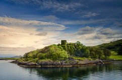 Dunollie Castle Στοκ Φωτογραφία