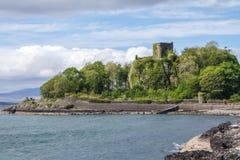 Dunollie Castle, Oban, Σκωτία Στοκ εικόνες με δικαίωμα ελεύθερης χρήσης