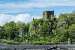 Dunollie Castle, Oban, Σκωτία Στοκ εικόνα με δικαίωμα ελεύθερης χρήσης