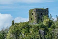 Dunollie Castle, Oban, Σκωτία Στοκ φωτογραφία με δικαίωμα ελεύθερης χρήσης