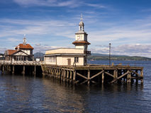 Dunoon pier Royalty Free Stock Images