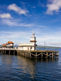Dunoon pier Royalty Free Stock Photos