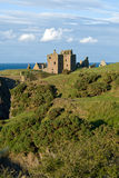 Dunottar Castle in Scotland Stock Image