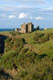 Dunottar Schloss in Schottland Stockbild