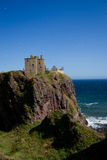 Dunotter Castle στοκ φωτογραφία με δικαίωμα ελεύθερης χρήσης