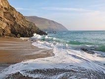 Dunquin海滩 免版税图库摄影