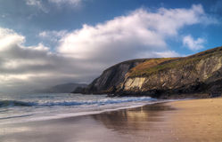 Dunquin bay beach Stock Photography