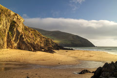 Dunquin bay beach. In Ireland - HDR Stock Image
