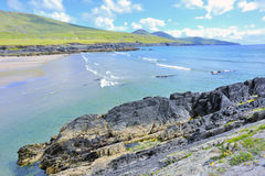 Dunquin bay in Ireland. In summer time Stock Photo