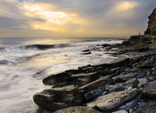 Dunraven Bay Dusk Stock Images