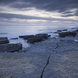 Dunraven Bay on the Glamorgan Heritage Coastline. Stock Photography