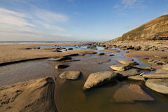 Dunraven Bay, Southerndown Royalty Free Stock Images