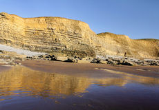 Dunraven Cliffs Stock Image